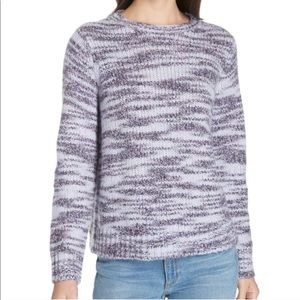 Eileen Fisher Merino Wool Silk Pullover Sweater
